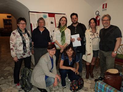På besök på ISFOM i Neapel