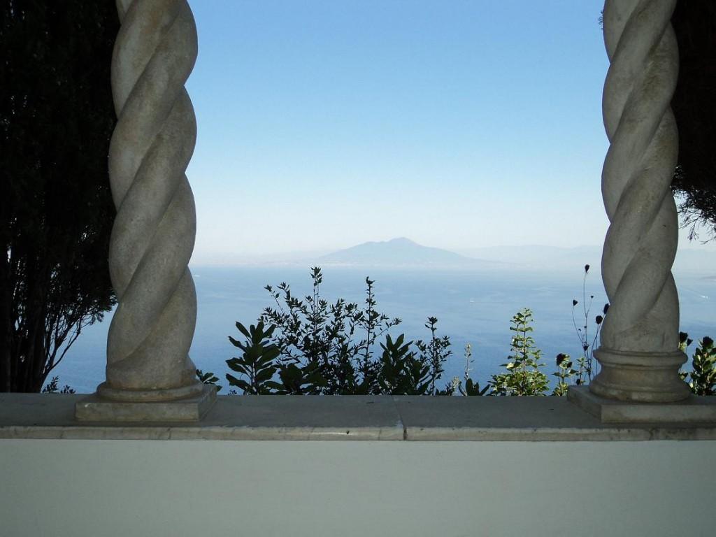 Utsikt från San Michele, Capri